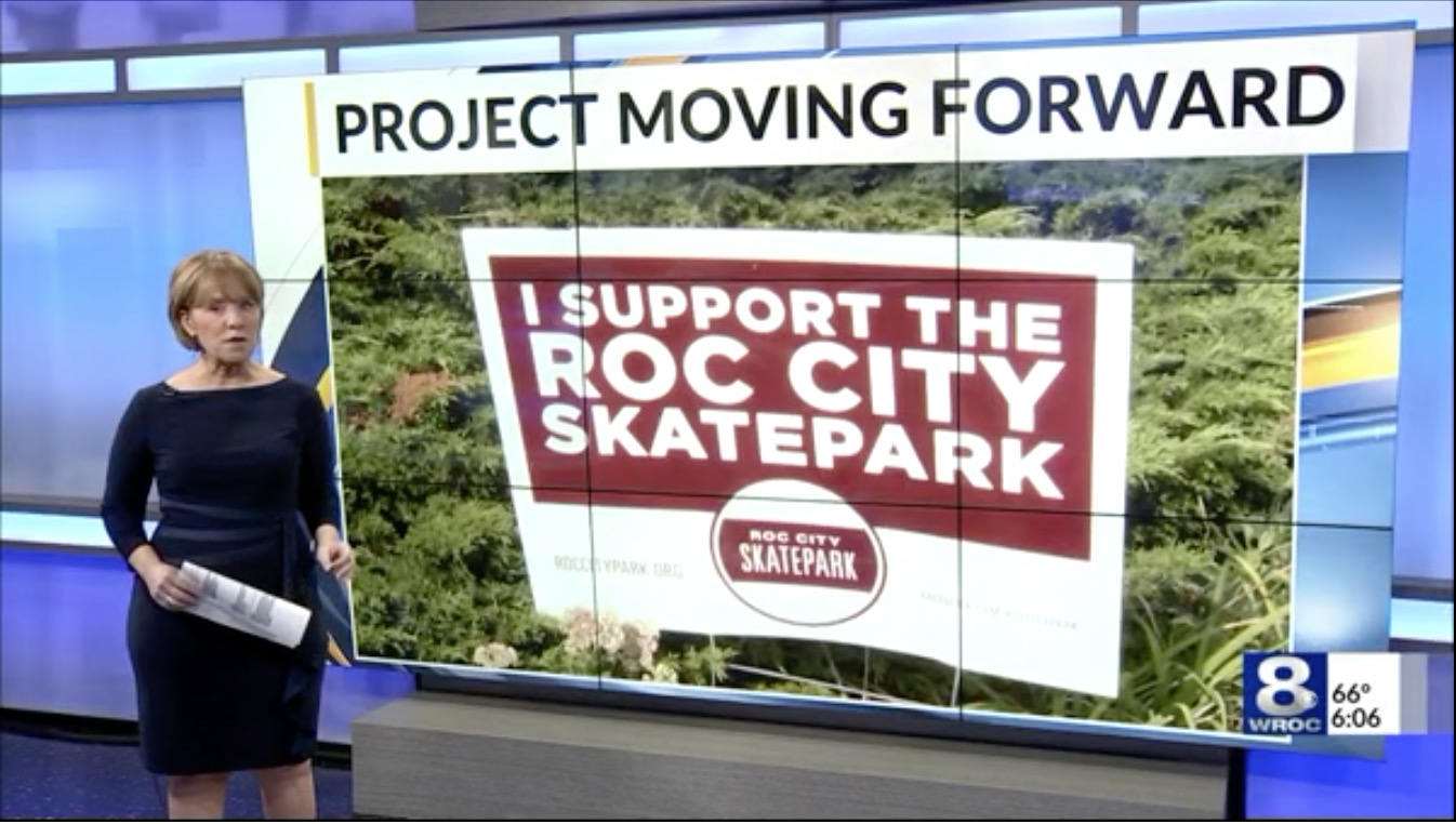 Skate Park Approved for Rochester, NY (2018)