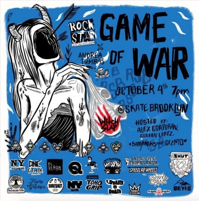 Rock Star Bearings - Game of War @ Skate Brooklyn | New York | United States