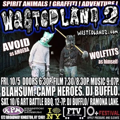 [Upstate] Wastedland 2 Art Battle x BBQ @ Kingston Pop Museum | Kingston | New York | United States