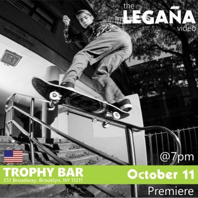 The Leguña Video Premiere @ Trophy Bar | New York | United States
