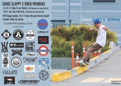SARGE SLAPPY 3 - NYC Video Premiere @ Max Fish | New York | New York | United States