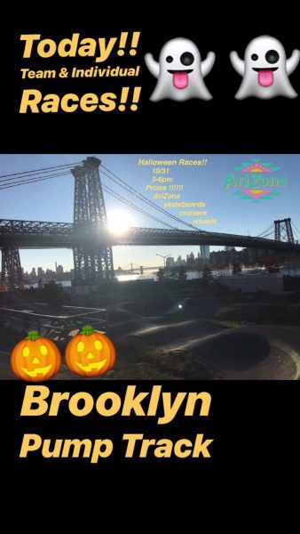 Arizona Skate - Halloween Races NYC @ Brooklyn Pump Track | New York | United States