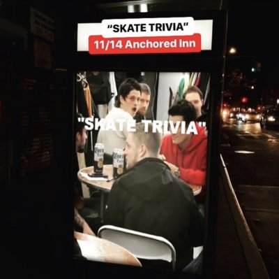 Skate Trivia 11.14.2018 @ The Anchored Inn | New York | United States