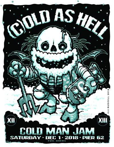 Cold Man Jam 13 @ Pier 62 Skatepark | New York | New York | United States