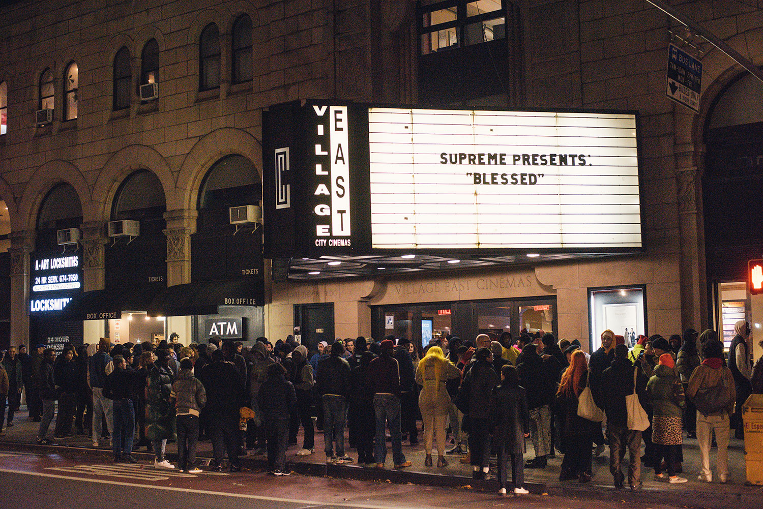"Photo Recap: Supreme ""Blessed"" NYC Premiere (2018)"