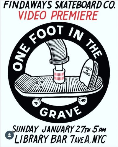"Findaways ""One Foot in the Grave"" Video Premiere @ Library Bar 