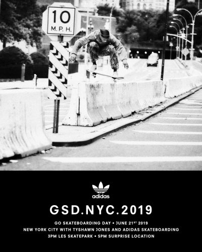 Go Skateboarding Day NYC - adidas Schedule (2019) @ LES Skatepark | New York | New York | United States