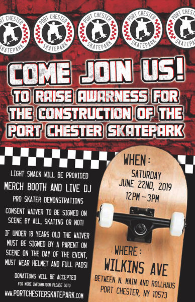 Port Chester Skate Park Fundraiser