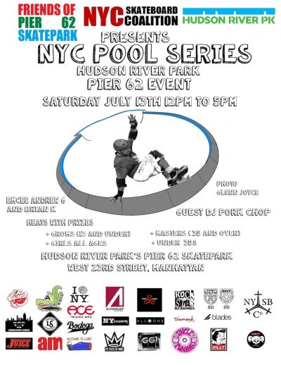 NYC Pool Series (2019) @ Pier 62 Skatepark | New York | New York | United States