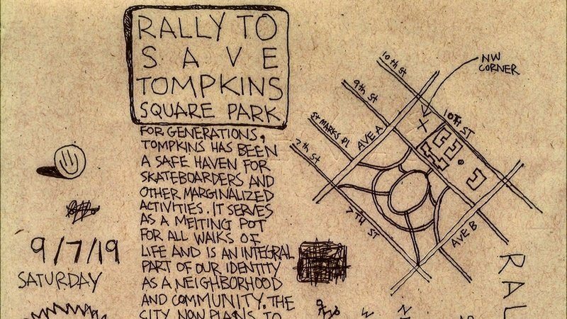 Don't Miss the Rally to Save Tompkins Square Park (2019)