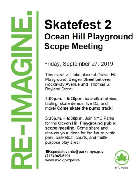 Skatefest 2 @ Ocean Hill Playground | New York | United States
