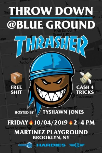 Throw Down @Blue Ground @ Martinez Playground | New York | United States