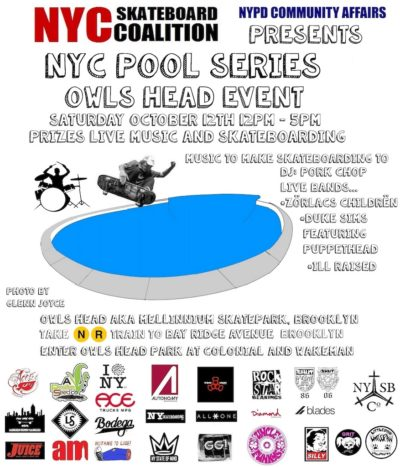 NYC Pool Series - Owls Head Event @ Owls Head Skatepark | New York | United States