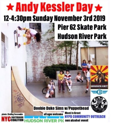 Andy Kessler Day 2019 @ Pier 62 Skate Park | New York | New York | United States