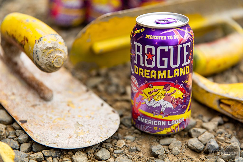 Rogue Ale & Spirits Teams Up With Dreamland Skateparks (2020)